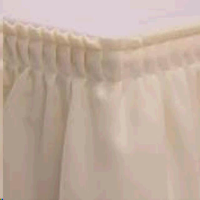 Stage Skirt 10 Foot X12 Inch White Rentals Memphis Tn